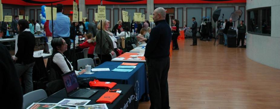Education fair in the Union